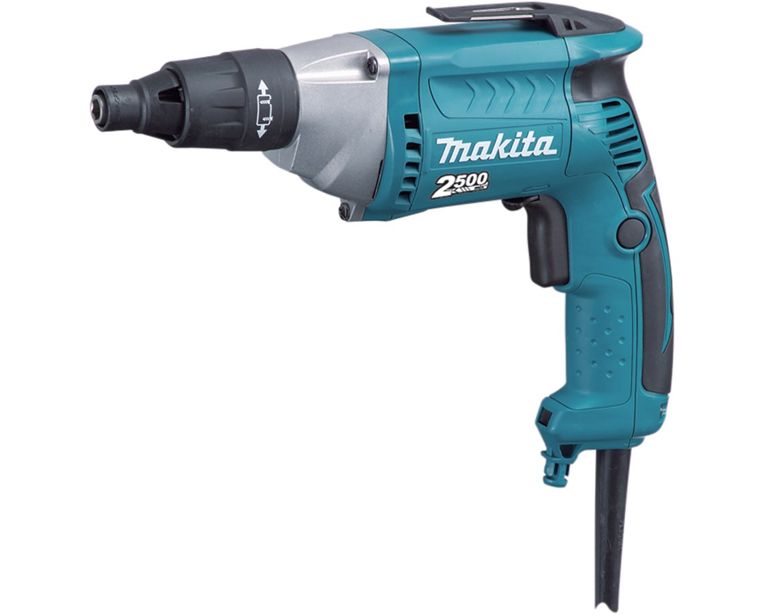 Makita FS2500 Screwdriver; 2,500 RPM, Variable Speed, Reversible with L.E.D. Light MAKFS2500