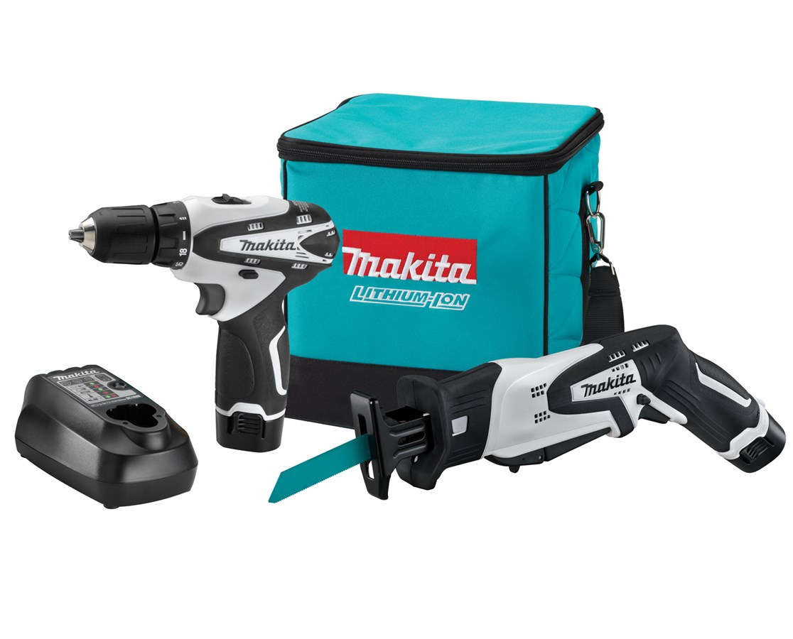 Makita LCT212W 12V Max Lithium-Ion Cordless 2-Pc. Combo Kit MAKLCT212W