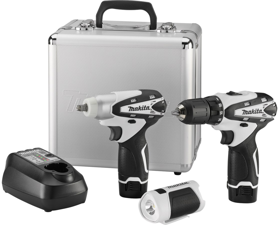 Makita LCT309W 12V max Lithium-Ion Cordless 3-Pc. Combo Kit MAKLCT309W