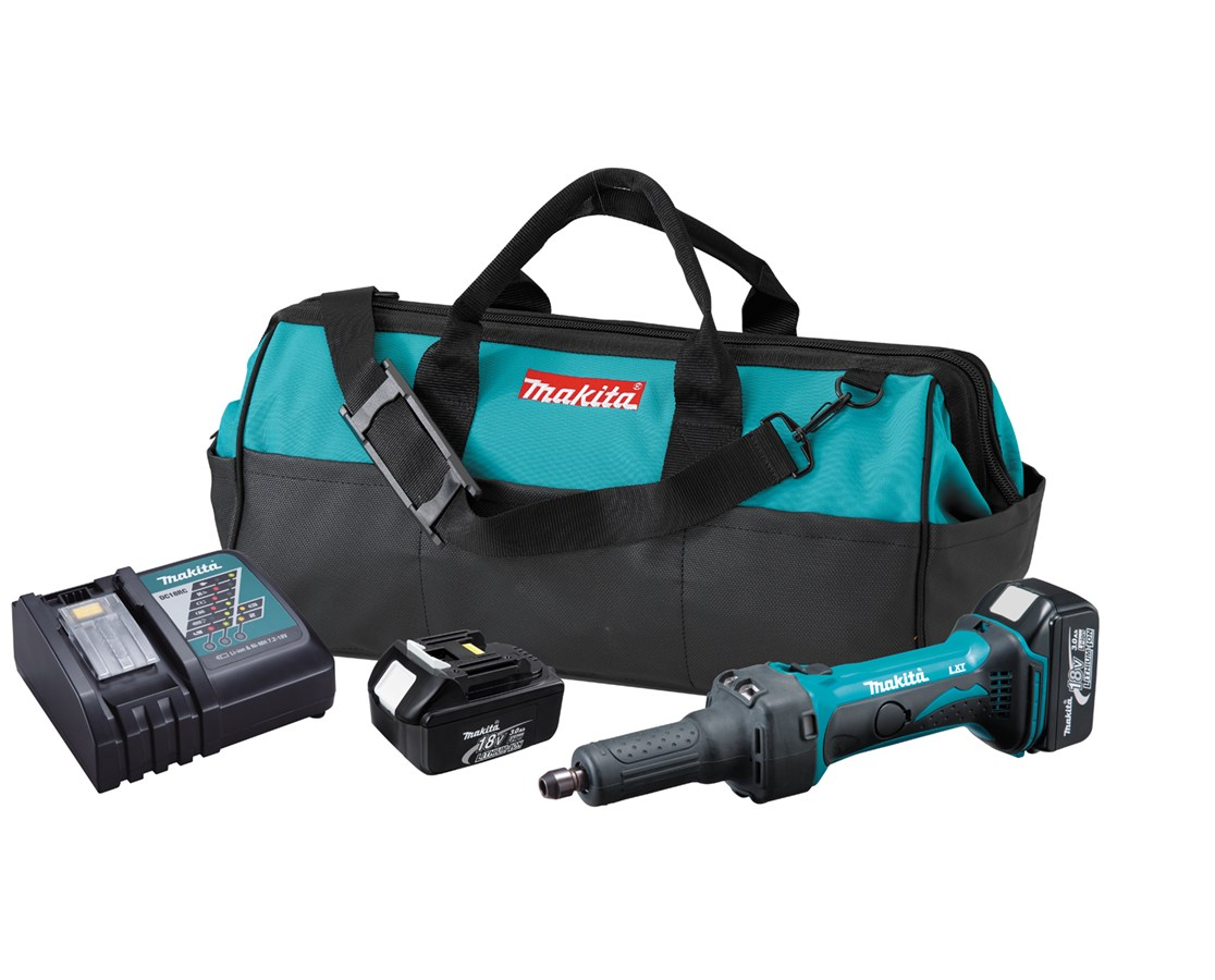 "Makita 18V LXT Lithium-Ion Cordless 1/4"" Die Grinder MAKLXDG01-"