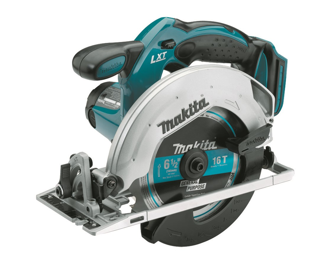 "Makita BSS611Z 18V LXT Lithium-Ion Cordless 6-1/2"" Circular Saw (Tool Only) MAK BSS611Z"
