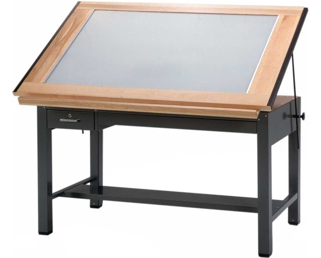 Mayline Ranger 4-Post Light Table MAY7734