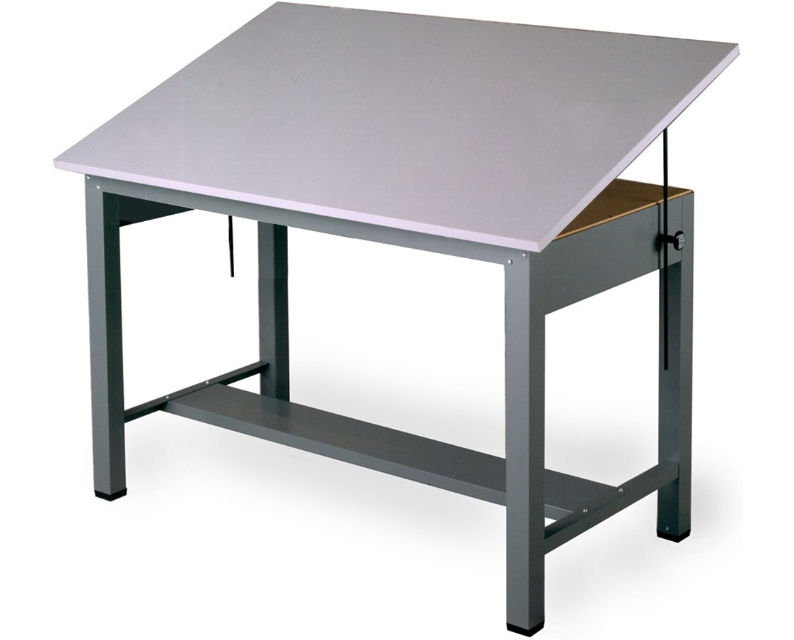 Mayline Economy Ranger Steel 4-Post Drafting Table MAY7726
