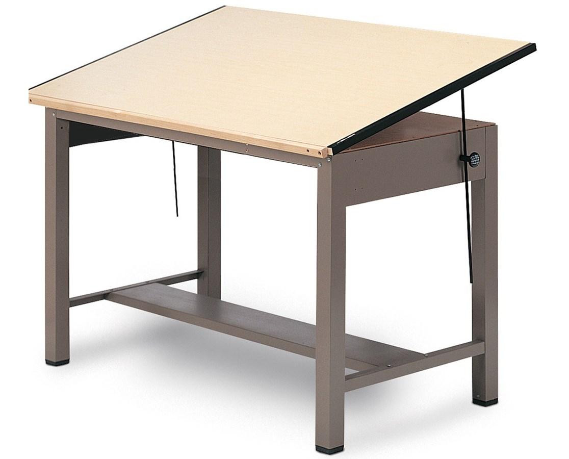Mayline Ranger Steel 4 Post Drafting Table 7732
