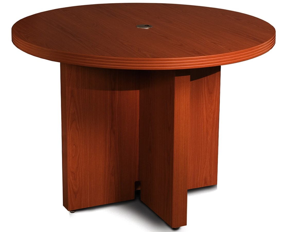 Mayline Aberdeen Series 42-Inch Round Conference Table MAYACTR42