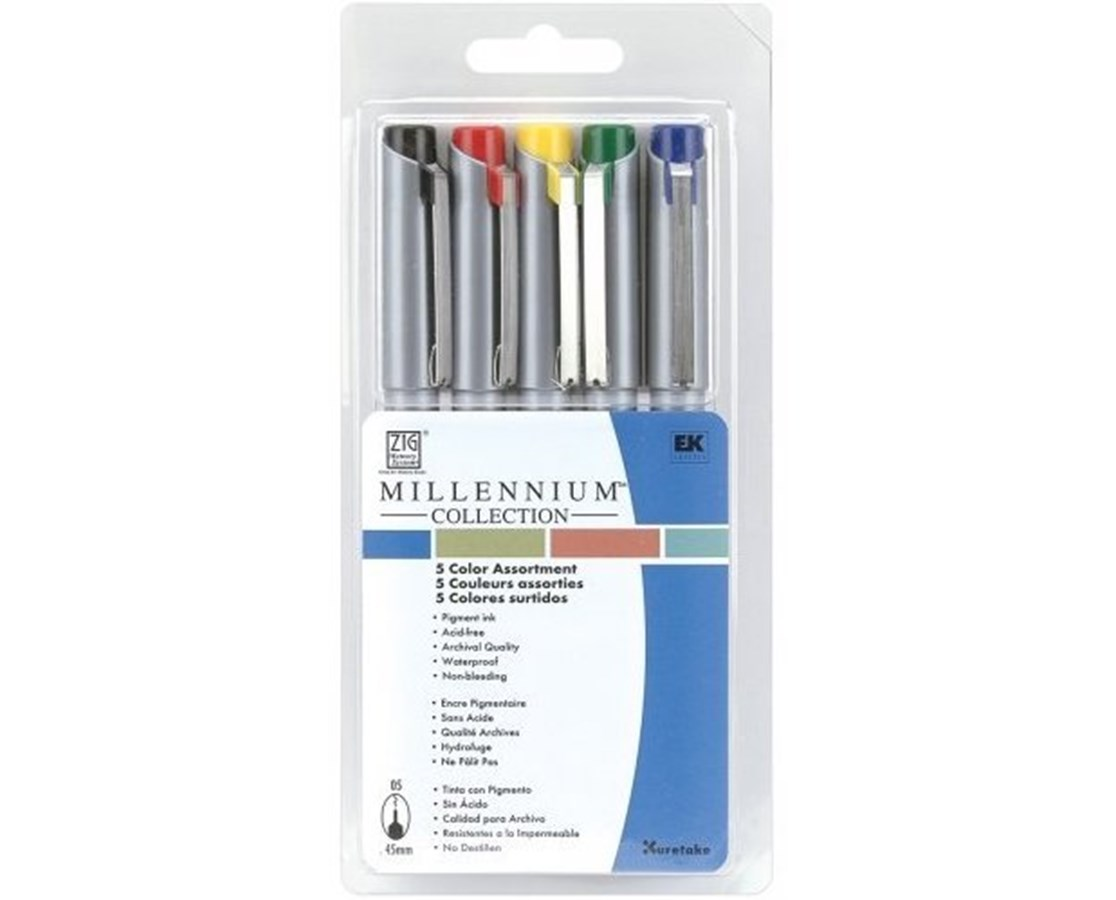 Zig Memory System Millennium Pen Set (Pack of 5) MS05-5V