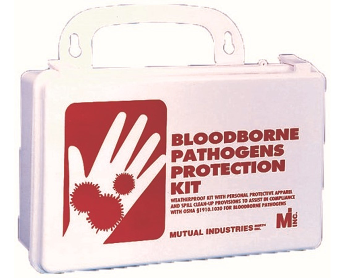 Mutual Industries Blood-Borne Pathogens Protection Kit MUT50004