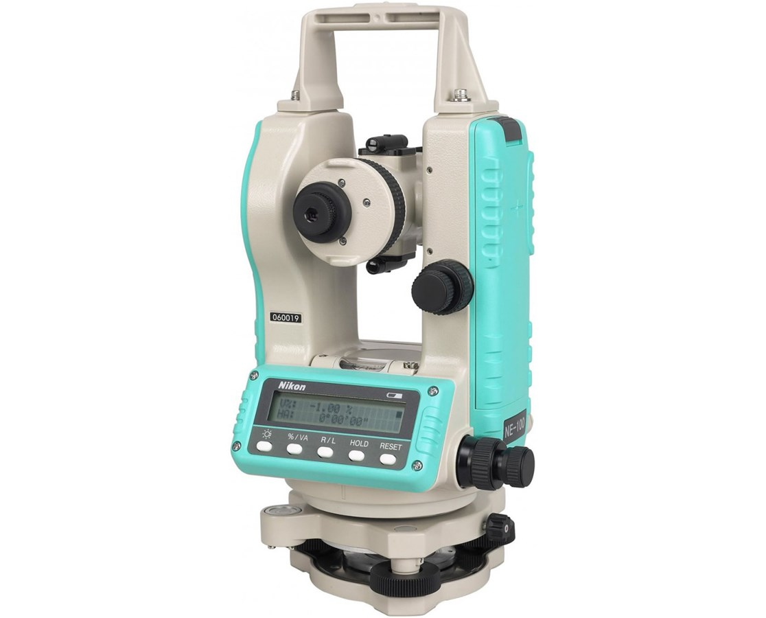 "Nikon NE-100 Series Construction Theodolite - 7""-10"" Accuracy NIKHRA73100"