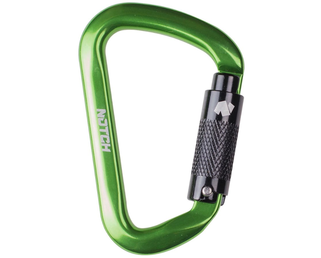 Triple-Action Auto-Locking D-Shape Carabiner NOT36678