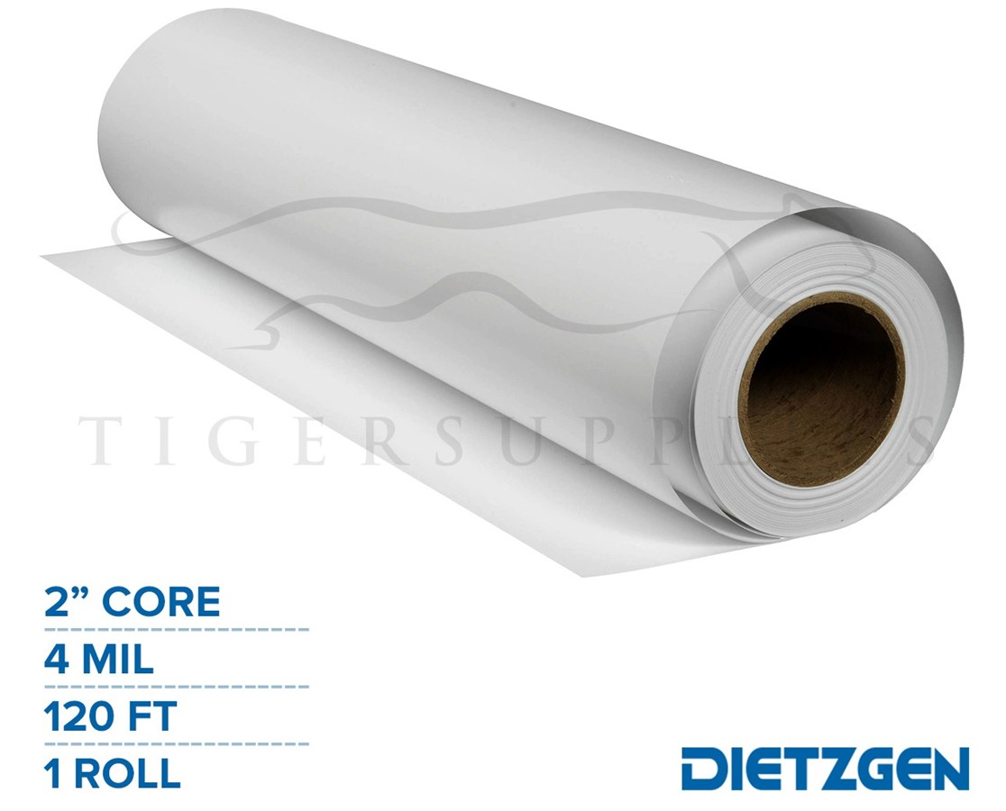"Dietzgen Economy DM Inkjet Film, 4 mil, 2"" Core, 120ft. Roll PAPD13044436120-"