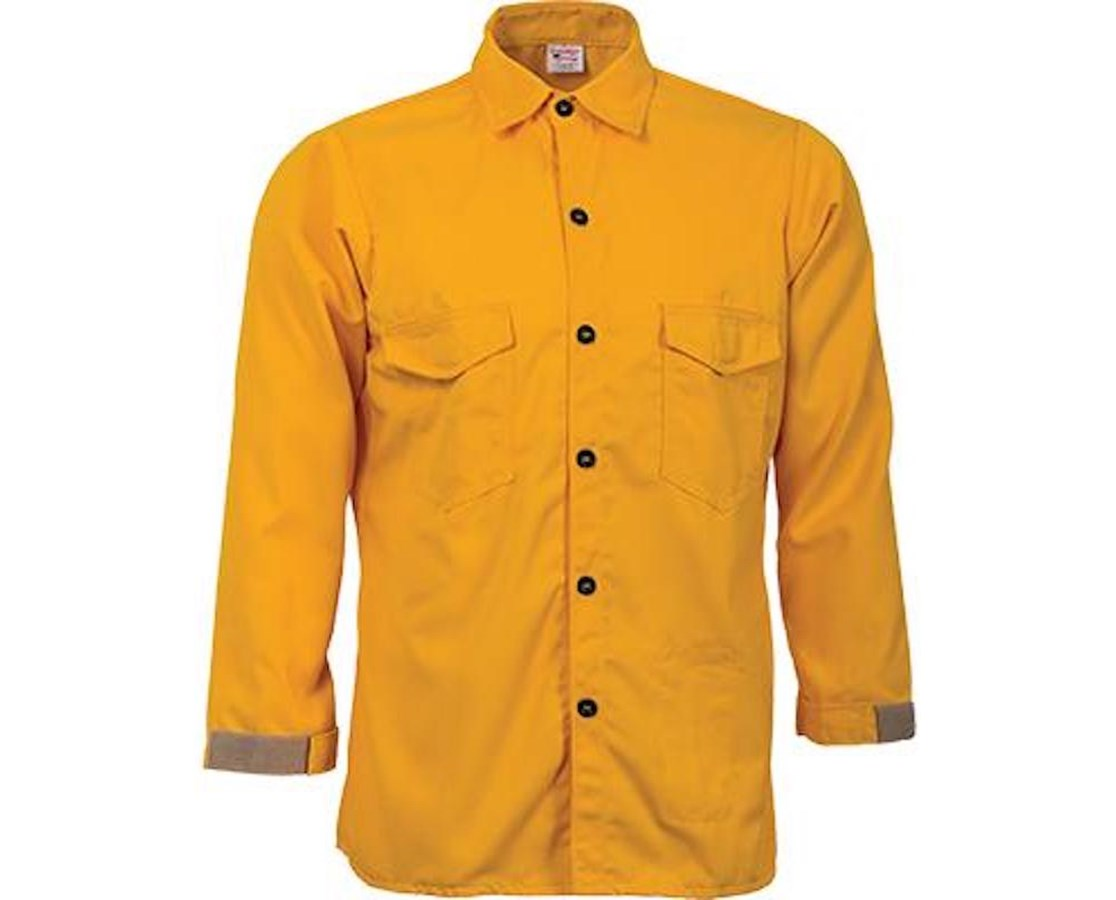 Flame Resistant 6.0 oz Nomex IIIA Traditional Brush Shirt PEC23645-