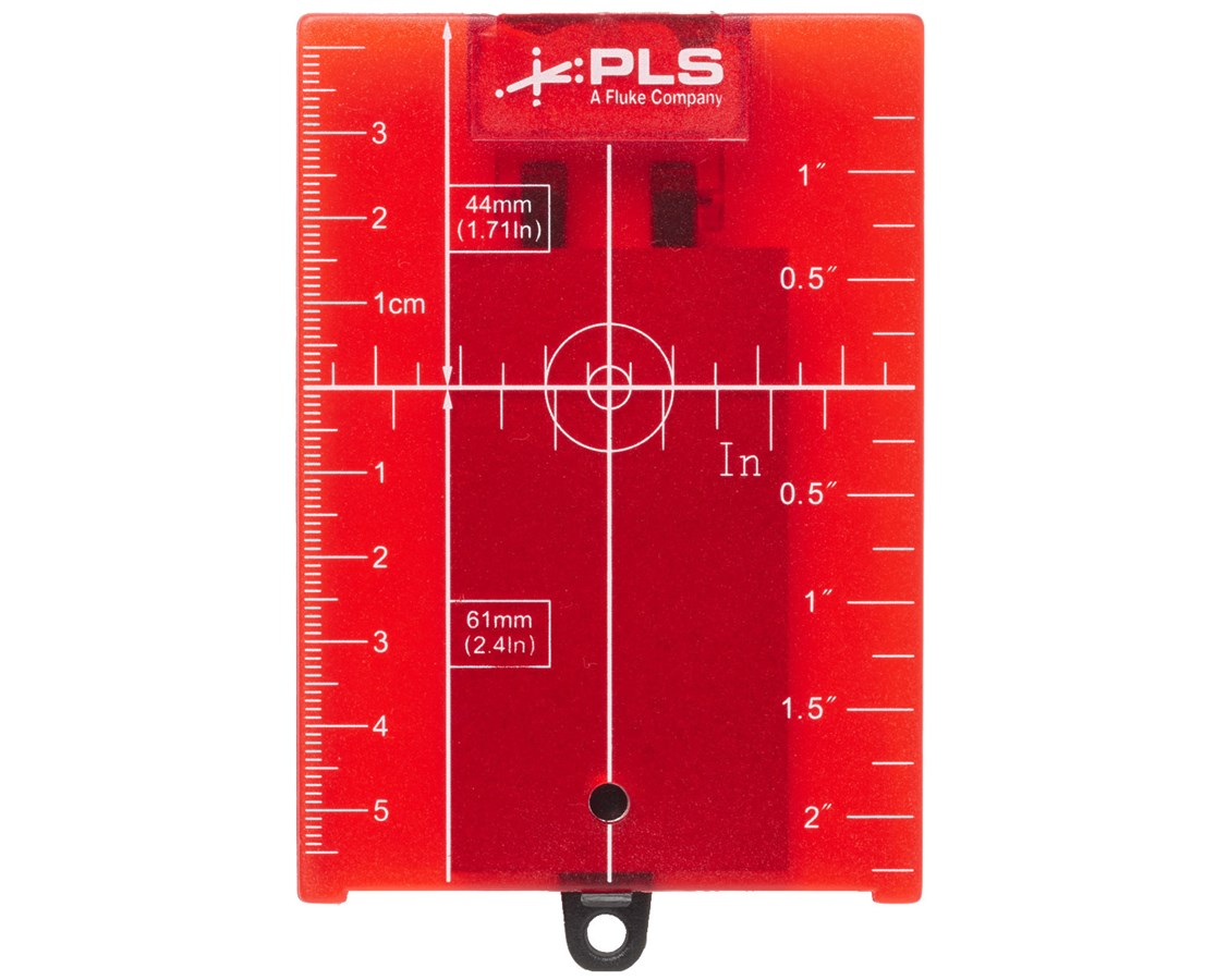 RRT4 Red Magnetic Reflective Target for Pacific Laser Systems Lasers PLS5022629