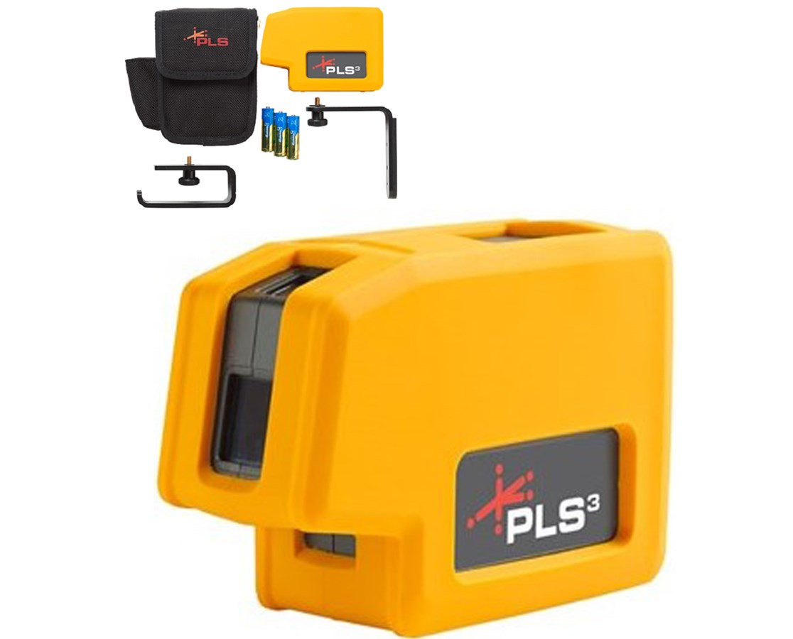 Pacific Laser Systems Pls3 Point Laser Level Tiger Supplies
