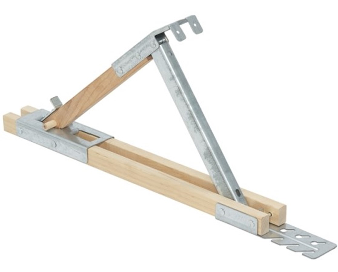 Qualcraft Adjustable Wood/Steel Roof Bracket QUA2510