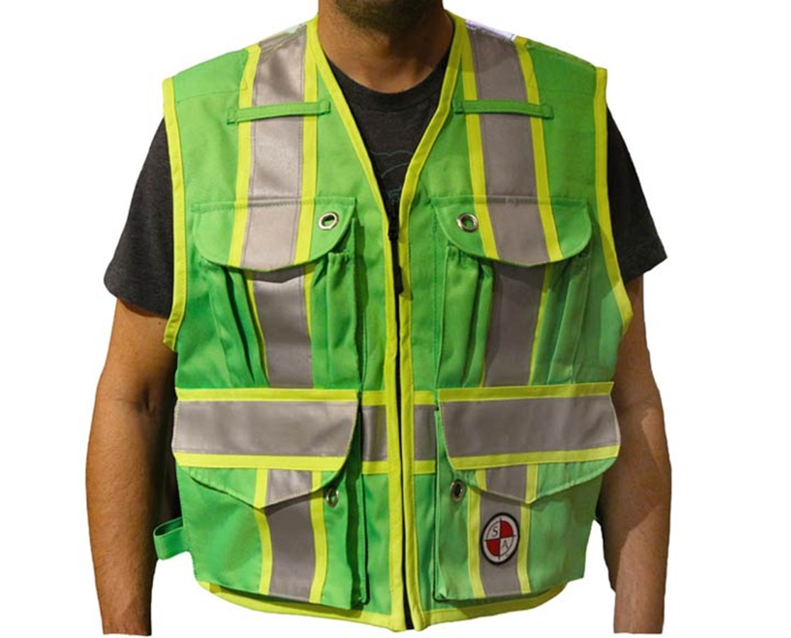 The Original Party Chief Survey Vest SAAPC13