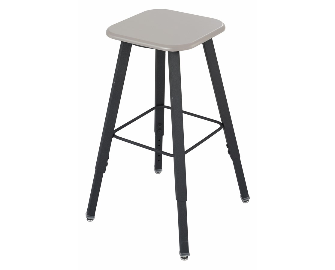 Safco AlphaBetter Adjustable-Height Student Stool SAF1205BE-