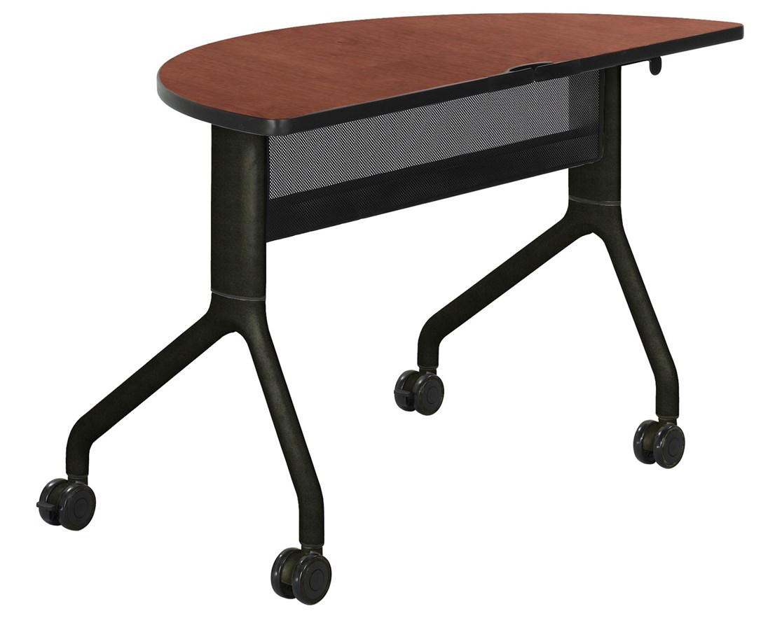 Safco Rumba Half-Round Table