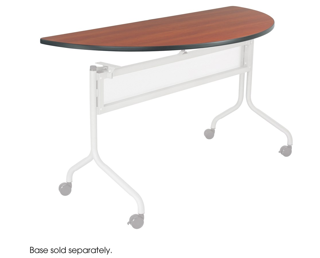 Safco Impromptu Mobile Half-Round Training Table Top