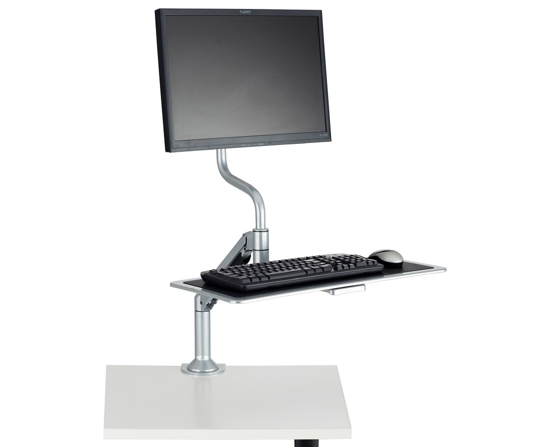 Safco Desktop Sit or Stand Workstation