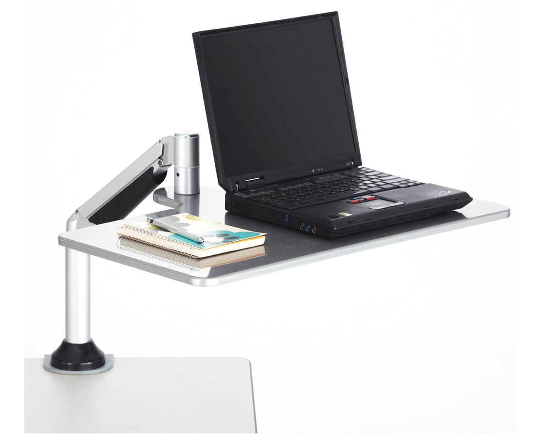 safco desktop sit or stand laptop workstation tiger supplies