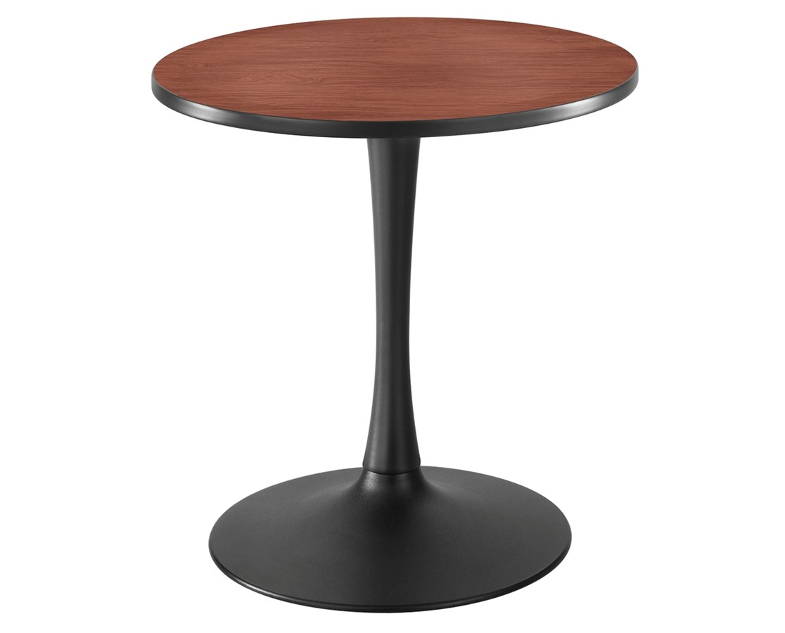 Safco Cha-Cha Sitting-Height Trumpet-Base Round Table