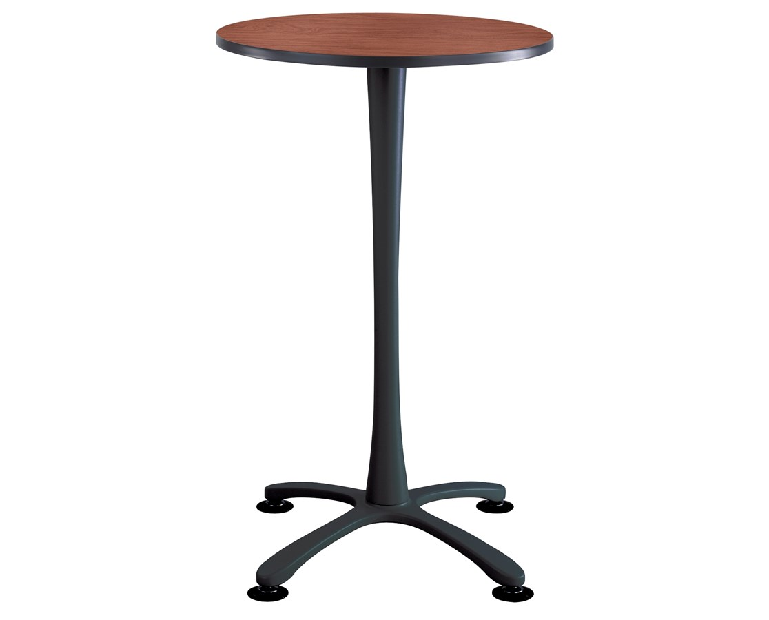 Safco Cha-Cha Bistro-Height X-Base Table SAF2480CYBL-