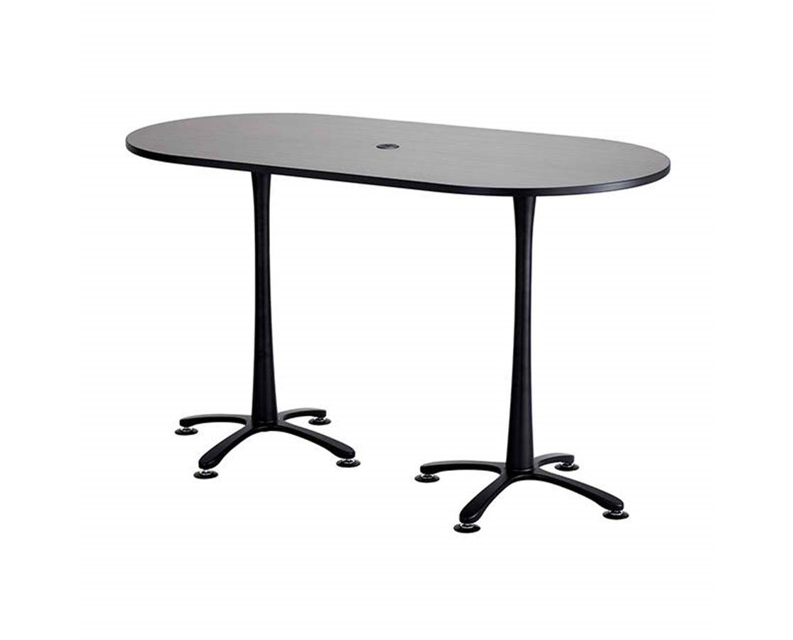Safco Cha-Cha Bistro-Height Racetrack Conference Table SAF2550ANBL-