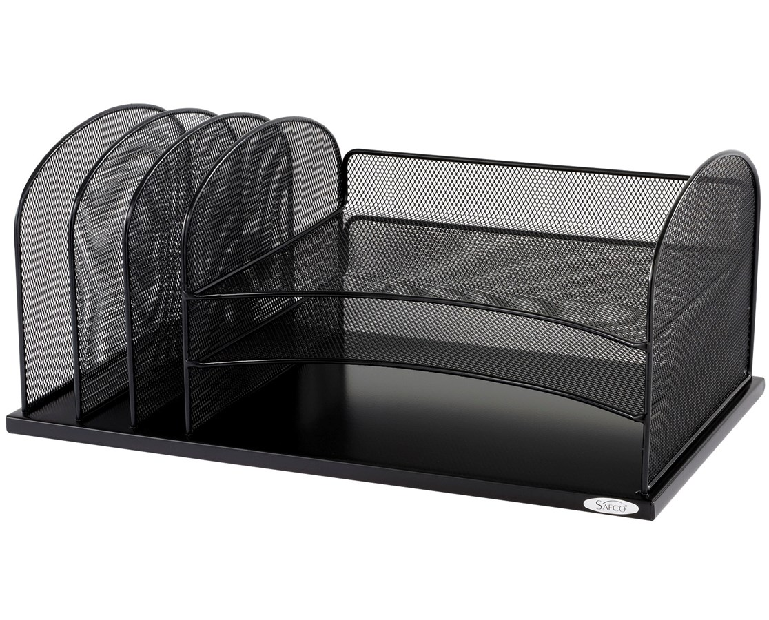 Safco Onyx Horizontal/Upright Sections Organizer