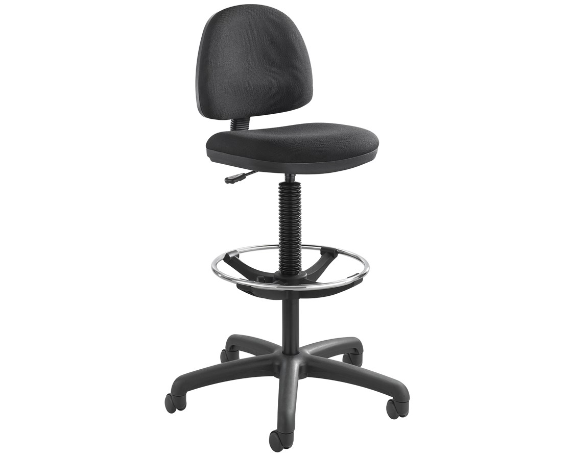 Safco Precision Drafting Chair with Foot Ring 3401