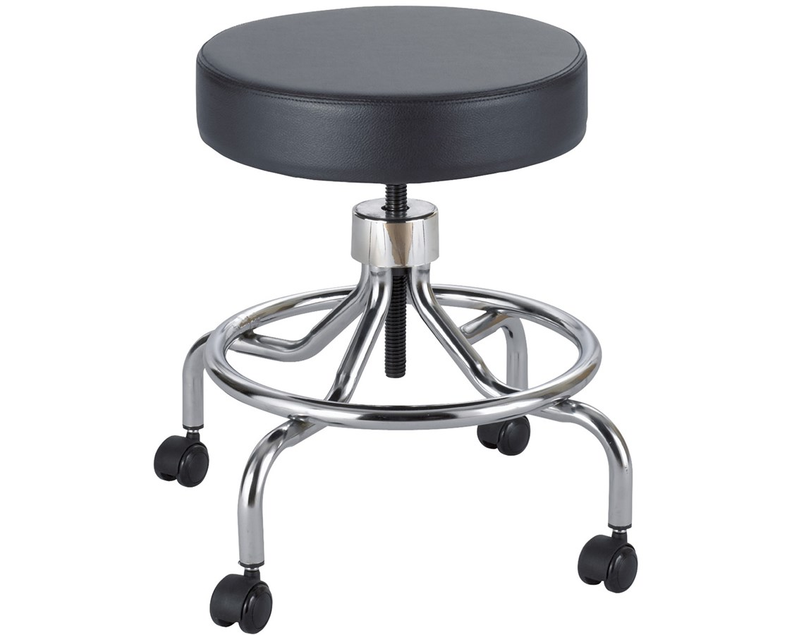 Safco Lab Stool with Screw Lift