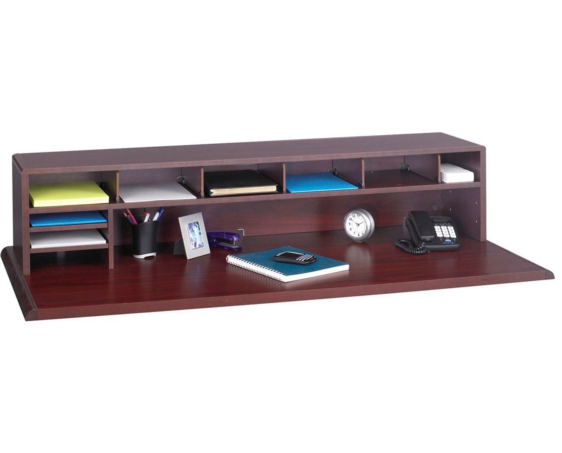 "Safco 8""W Low Profile Desktop Organizer"