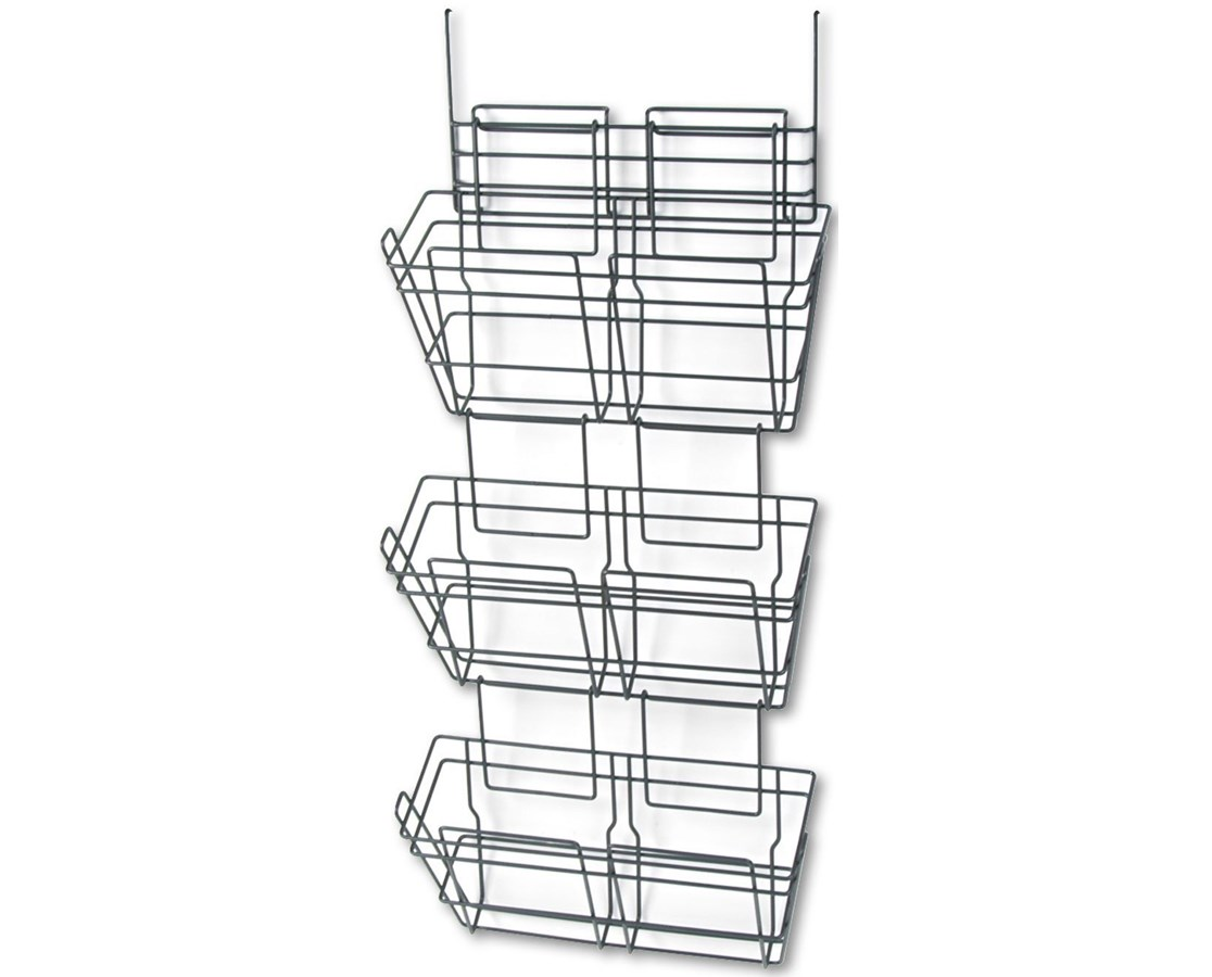 Safco PanelMate Triple File Basket (Qty. 6)