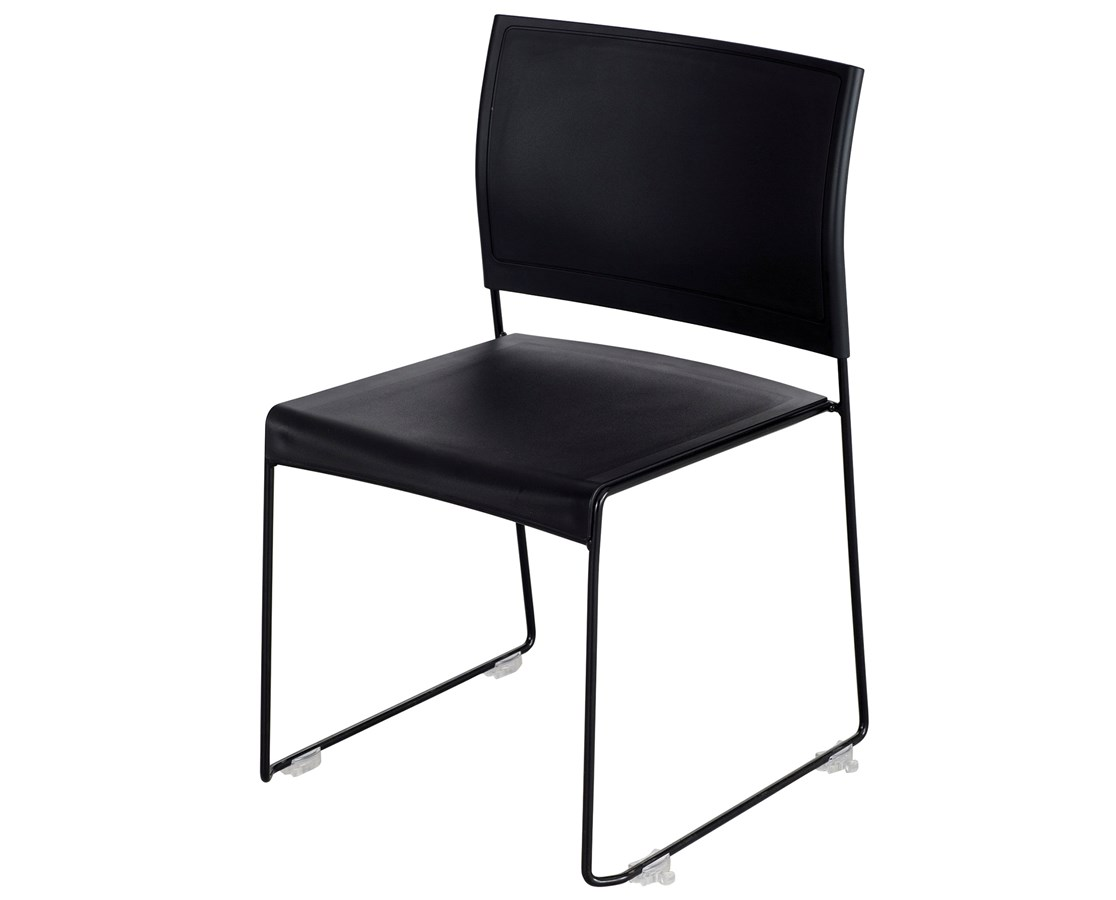 Safco Currant High-Density Stack Chair (Qty 4) SAF4271BB-