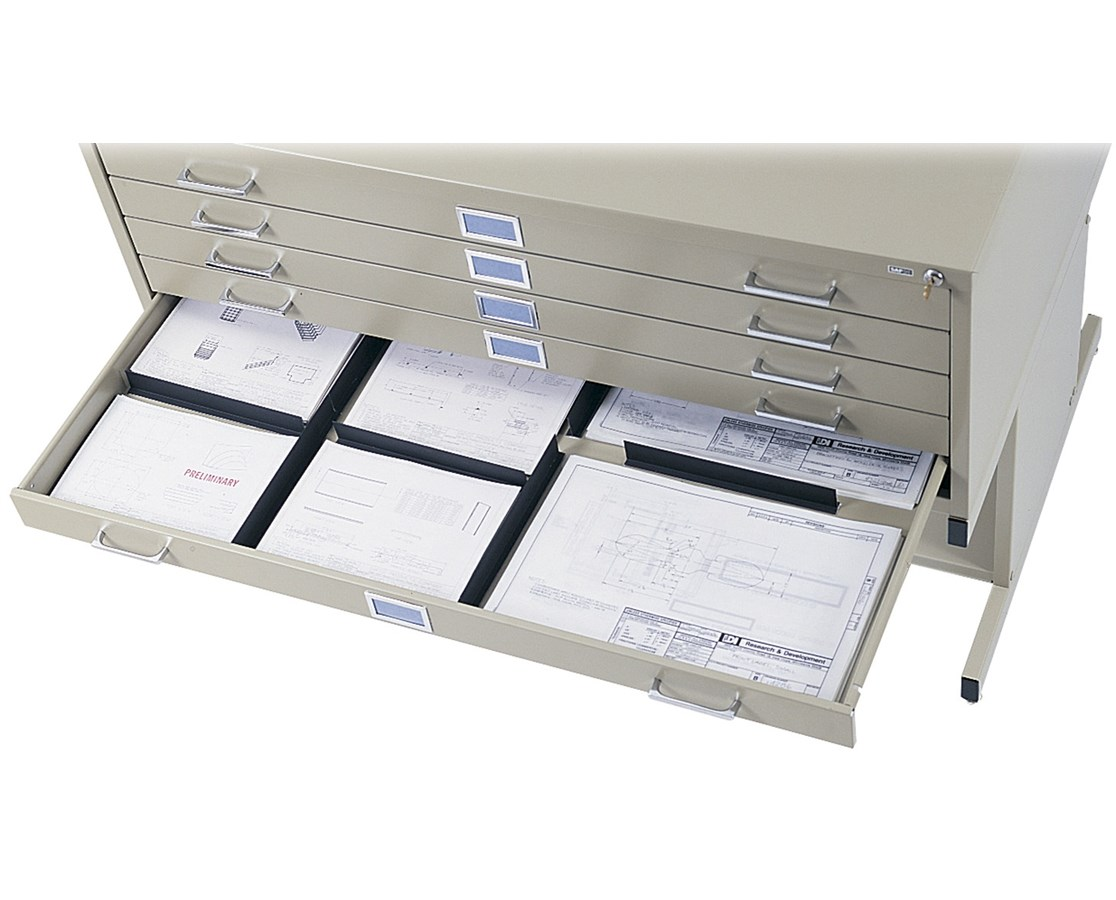 Safco Drawer Dividers for 5-Drawer Flat Files SAF4980-