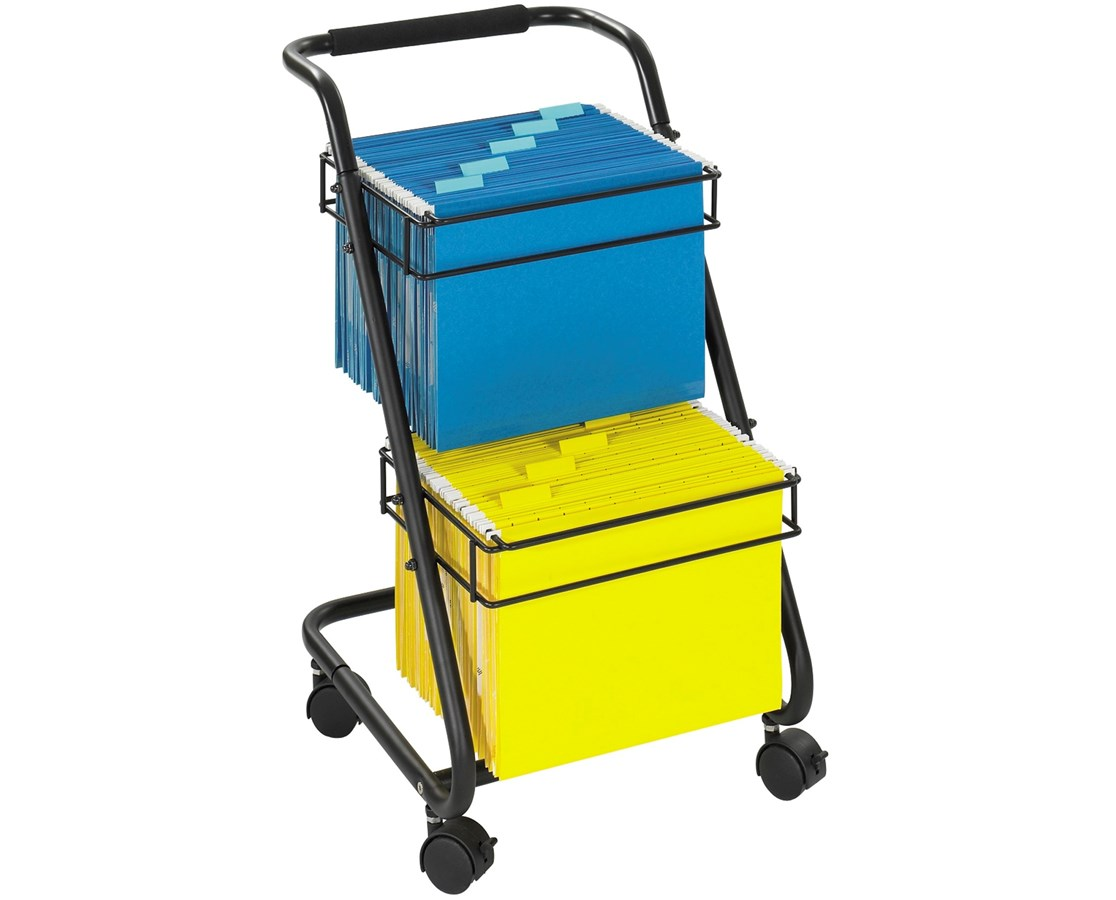 Safco Jazz Two-Tier File Cart