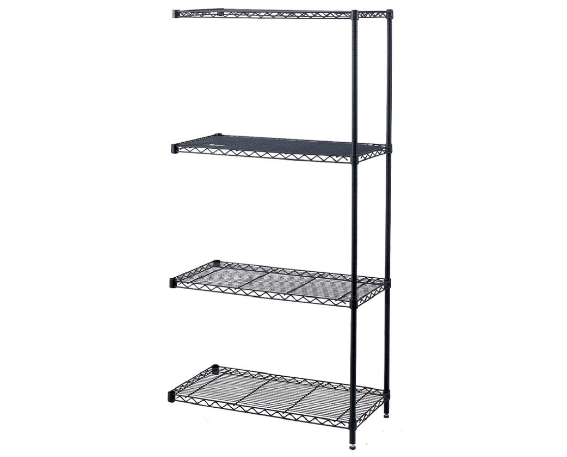 Safco Industrial Shelving Add-On Unit SAF5286BL-