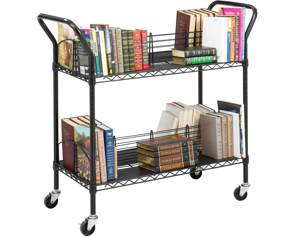 Safco Wire Book Cart