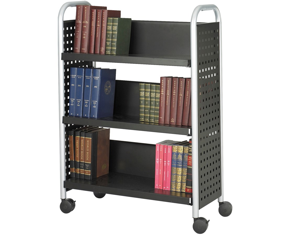 Safco Scoot Book Cart