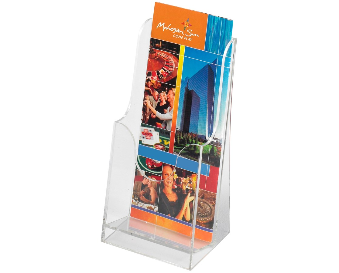 Safco Acrylic Single-Pocket Pamphlet Display (Qty. 6)