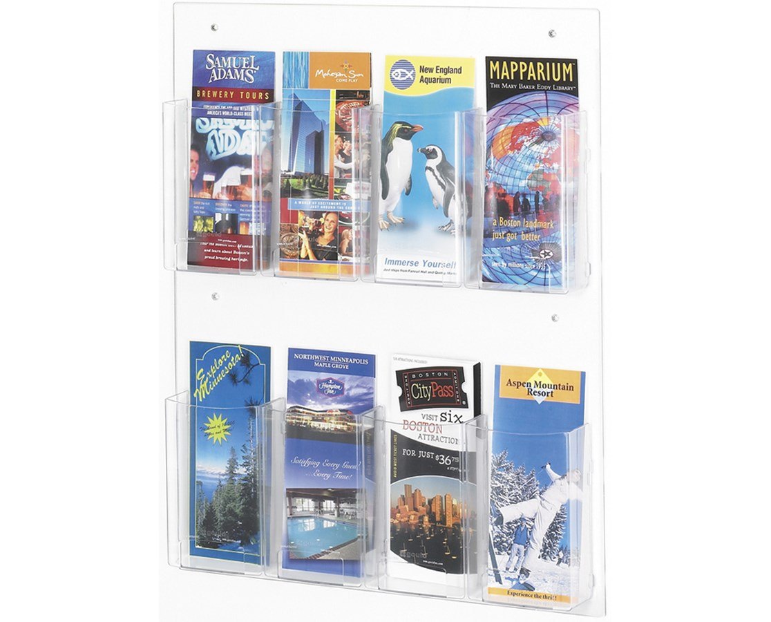 Safco Clear2c Pamphlet Display