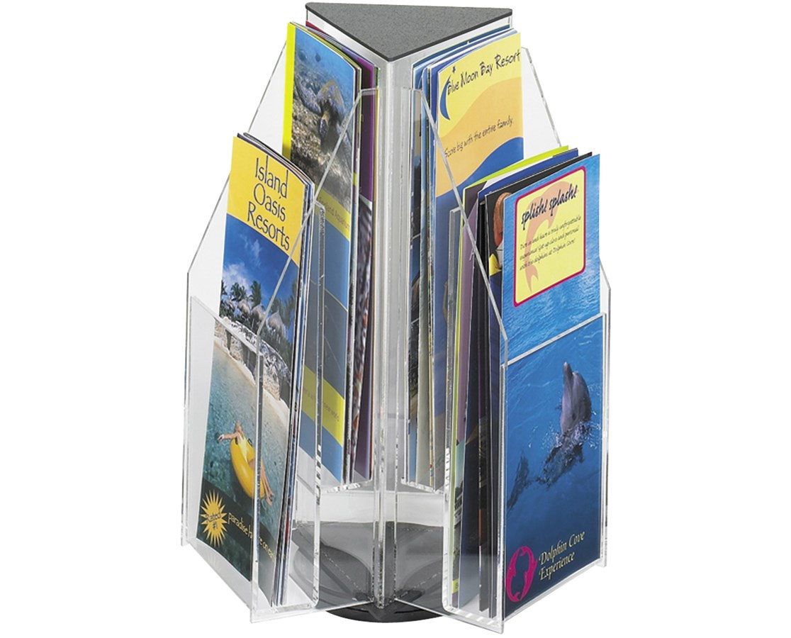 Safco Reveal 6 Pamphlet Tabletop Display