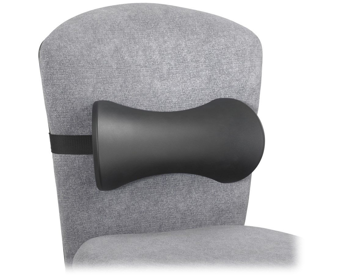 Memory Foam Lumbar Support Backrest (5 Per Box) SAF7154BL