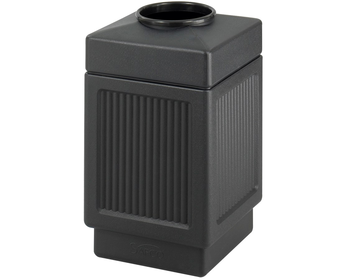 Safco Canmeleon Top Open Recessed Panel Waste Receptacle