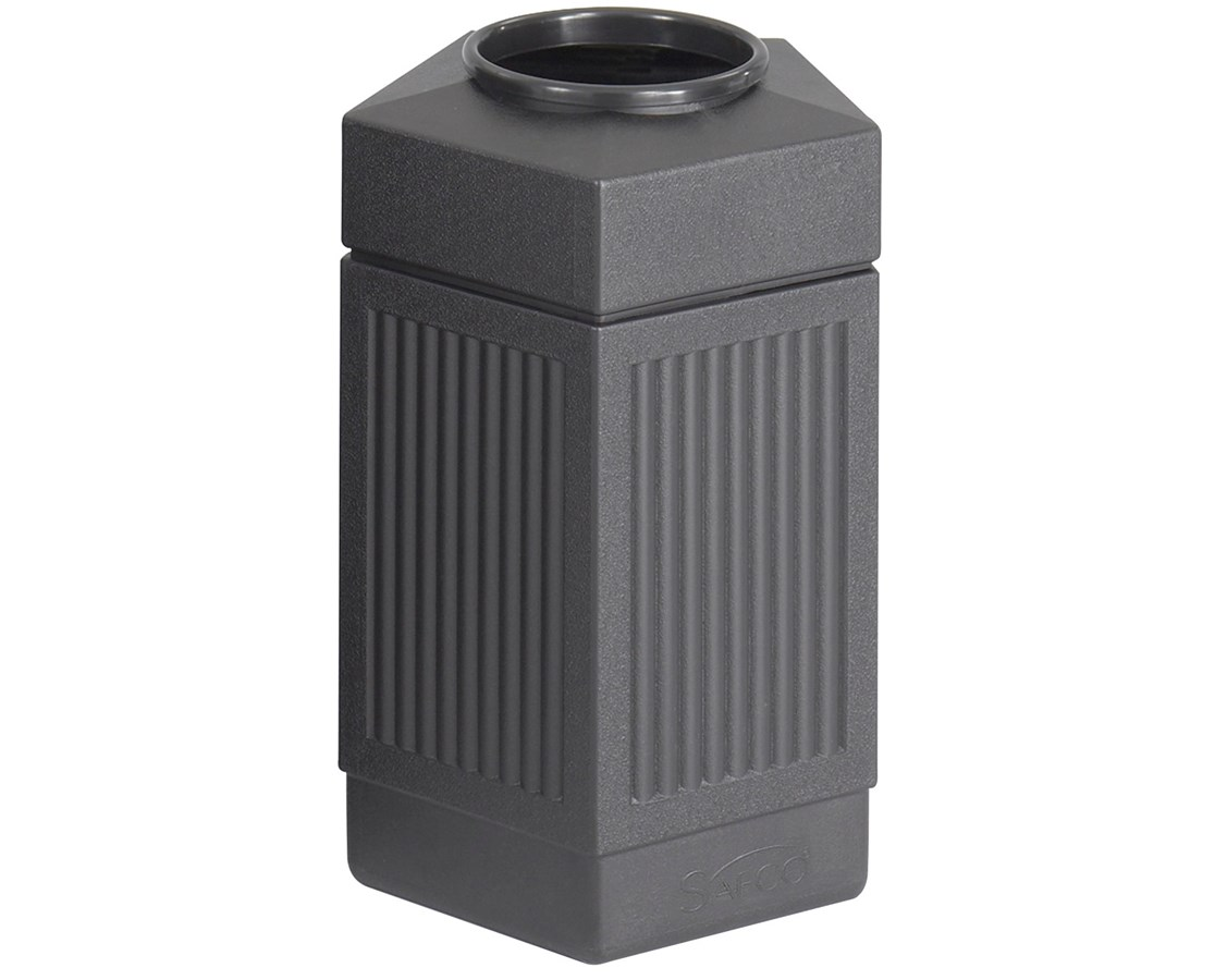 Safco Canmeleon Indoor/Outdoor Pentagon Waste Receptacle