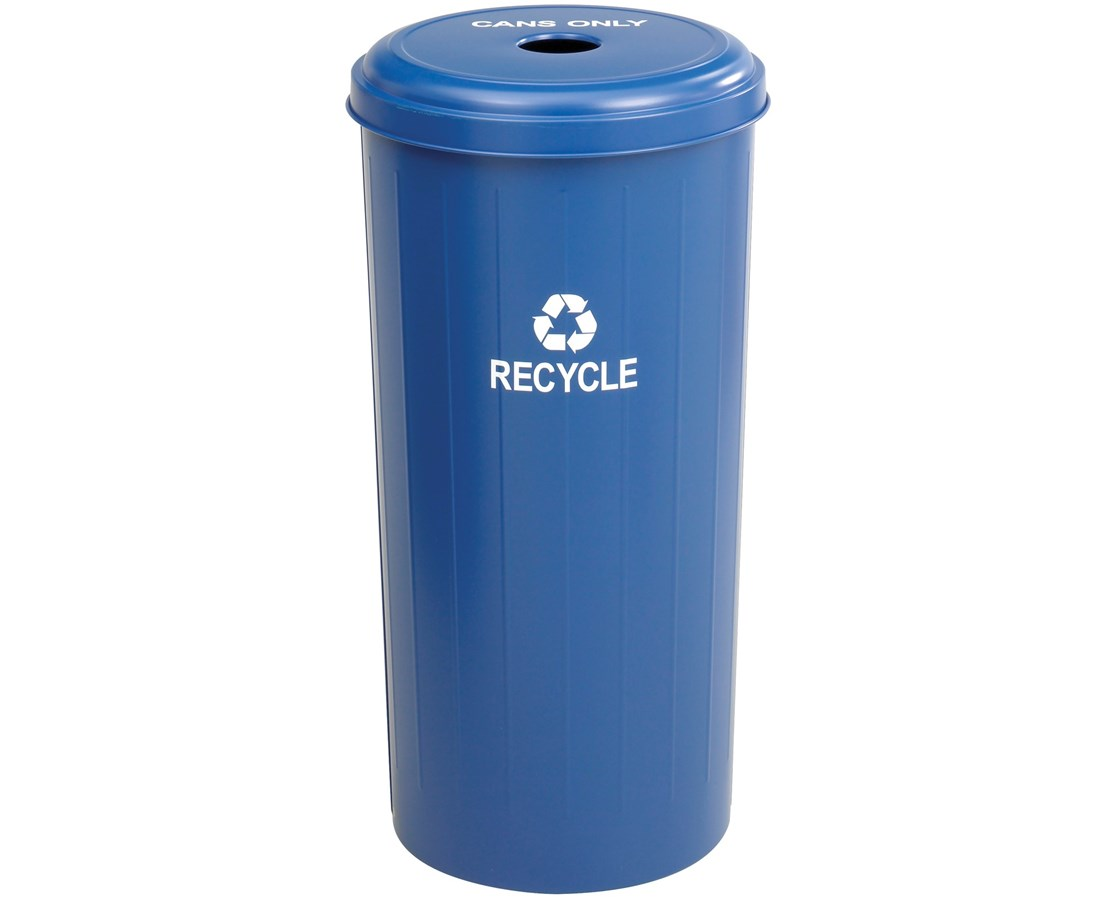 Safco Tall Round Recycling Receptacle