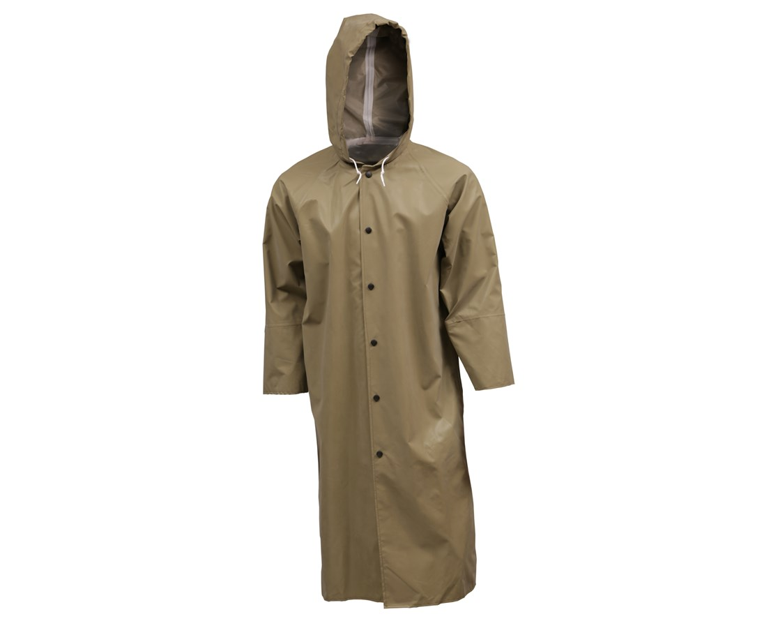 48 Inches Flame Resistant Liquidproof Coat C12148