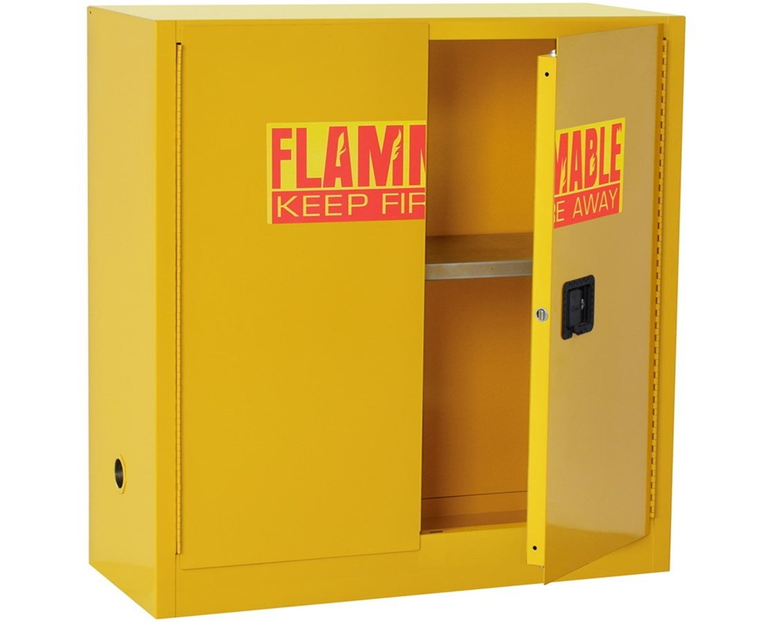 Sandusky Lee 2-Door Flammable Safety Cabinet SANSC300F-