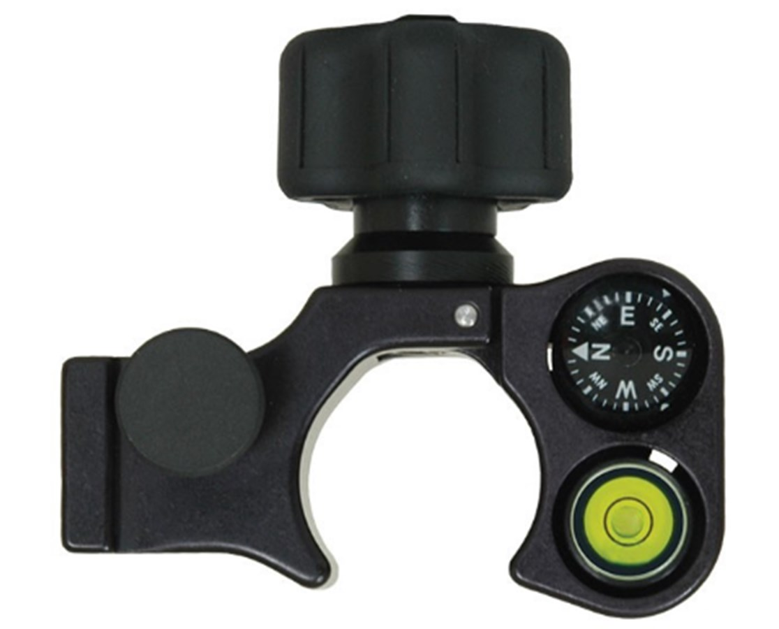 Seco Claw Pole Clamp with Compass and 40-minute Vial SEC5200-155