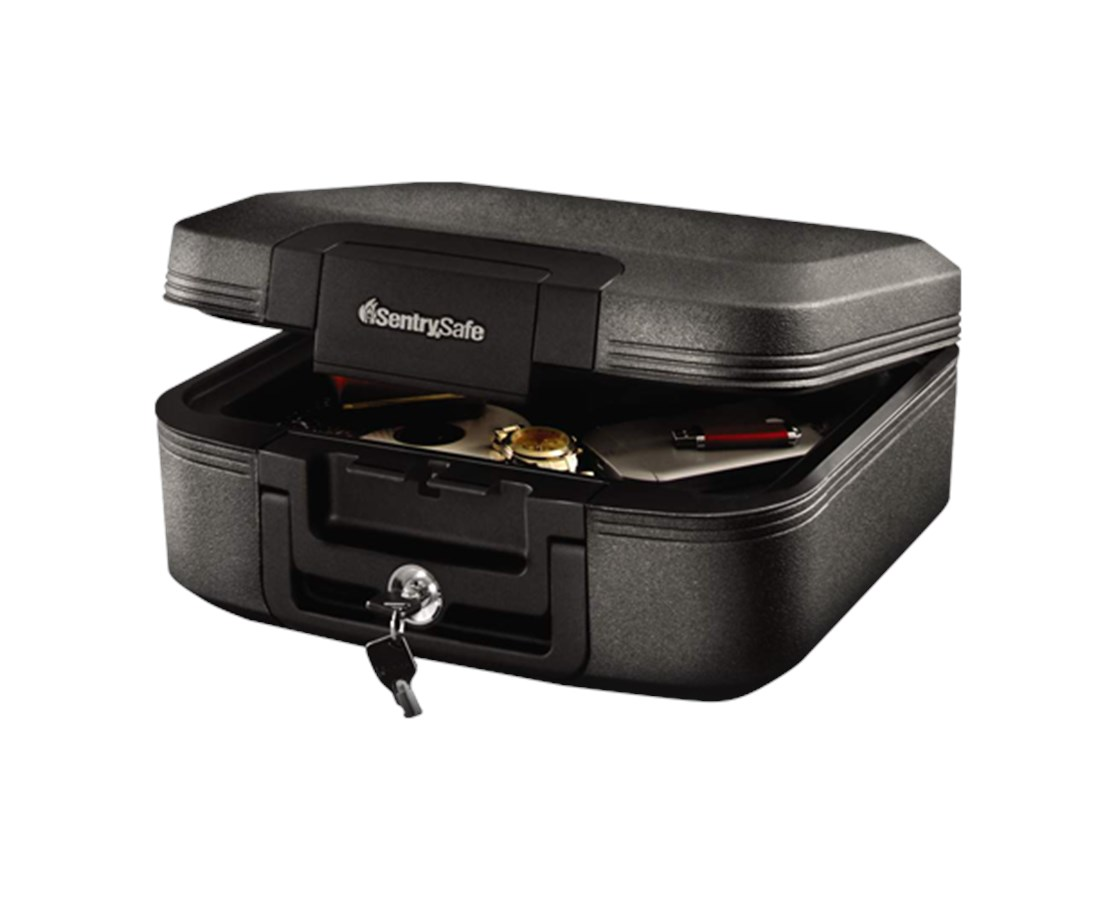 SentrySafe Medium Tubular Lock Fire Chest SENCFW20201