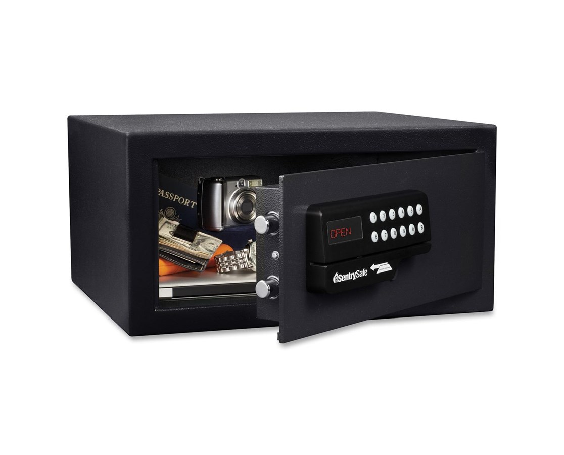 SentrySafe Security Safe With Card Swipe Lock